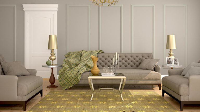 Trims & Profiles: interior of the living room, modern classic style,